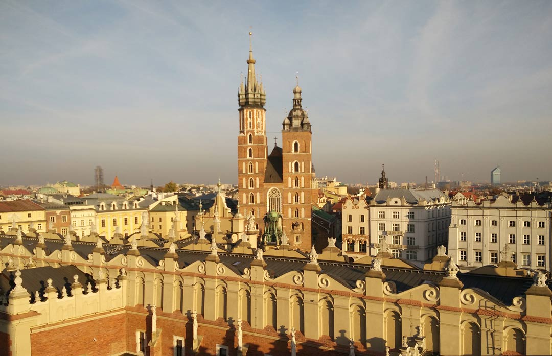 best views of cracow