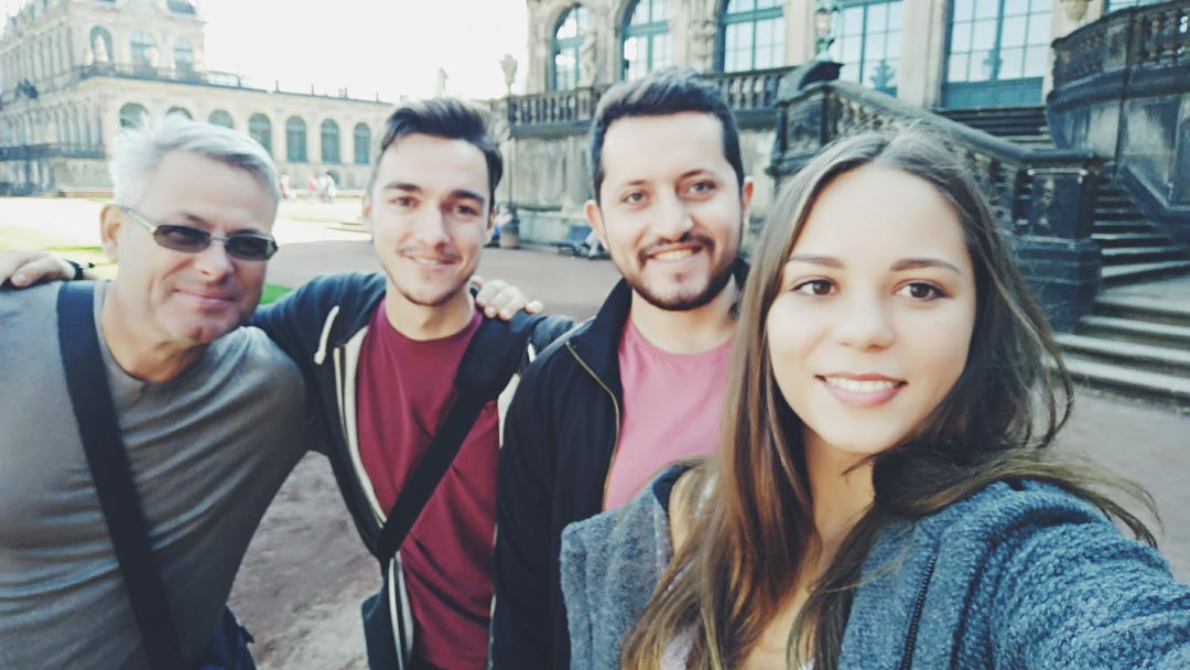 visit dresden with family