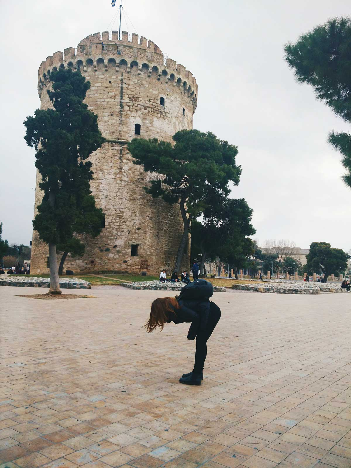 white tower of Thessaloniki