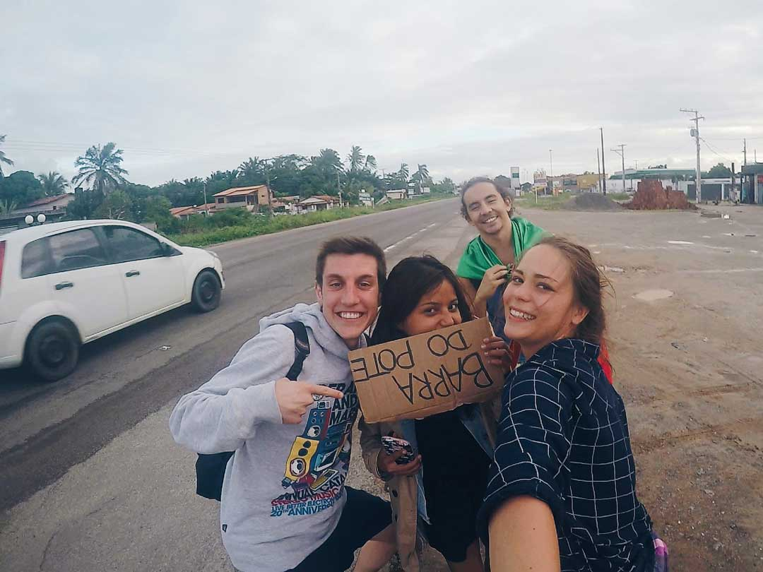 hitchhiking in Brazil