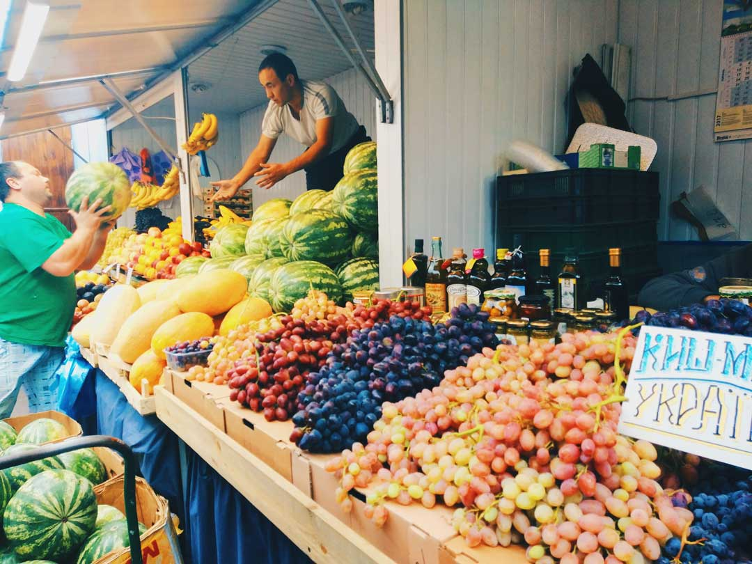 food markets in Kyiv