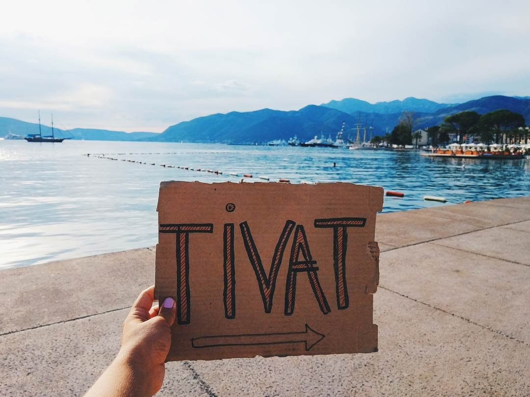 hitchhiking to Tivat