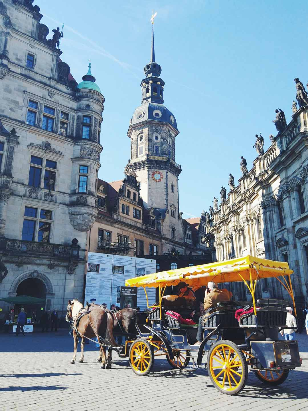 Dresden downtown